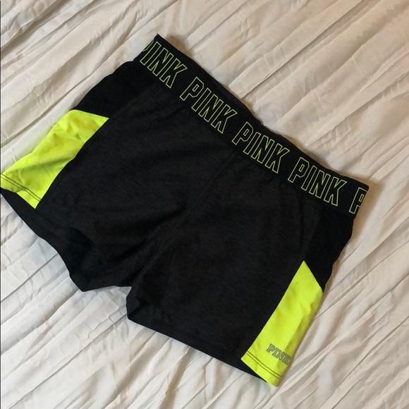 PINK Victoria's Secret Pants - Victoria's Secret PINK Yoga Shorts! 💛